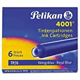 Pelikan - caja de 6 cartuchos de tinta tp/6 azul real