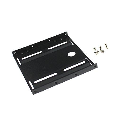 Hochwertiges Metall 6.35 cm bis 8.89 cm Festplatte, Adapter/Halterung/Halter für SSD und HDD (Montageschrauben inklusive AAA Products ® schwarz