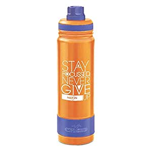 Milton Astir 750 Thermosteel Hot and Cold Water Bottle, 710 ml, Orange