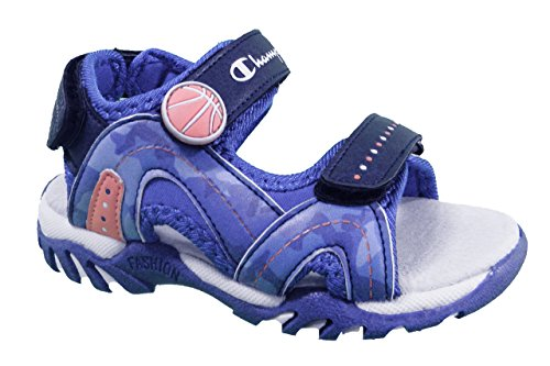 CHAMPION SANDALO KINDER SWISH S30484'1051 Blau