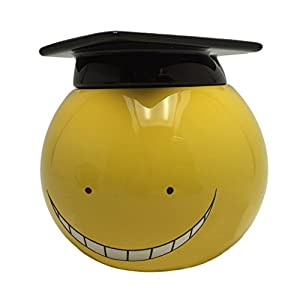 Abystyle ABYMUG352 Taza 3d assassination Classroom Koro Sensei, adultos, 500 ml, Amarillo