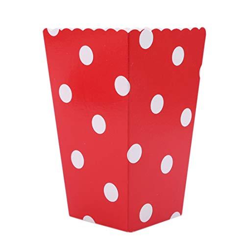 oxen Halloween Süßigkeiten Party Buffet gefallen Snack Treat Box(rot) ()