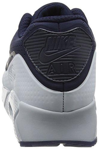 Nike Air Max 90 Ultra Moire, Scarpe da Corsa Uomo Blu (Obsidian/Obsidian/Pure Platinum)