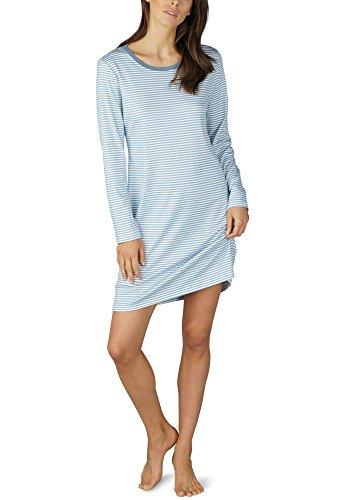 Mey Night Paula Damen Nachthemden Blau 42