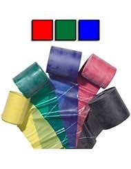 Theraband–3er-Pack [rot, grün, blau]