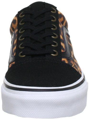Vans Old Skool Scarpe Da Ginnastica Basse, Unisex Adulto Nero (Black/True White)