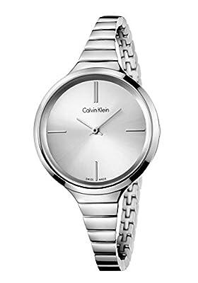Calvin Klein–Reloj de pulsera analógico para mujer cuarzo acero inoxidable k4u23126 de Calvin Klein