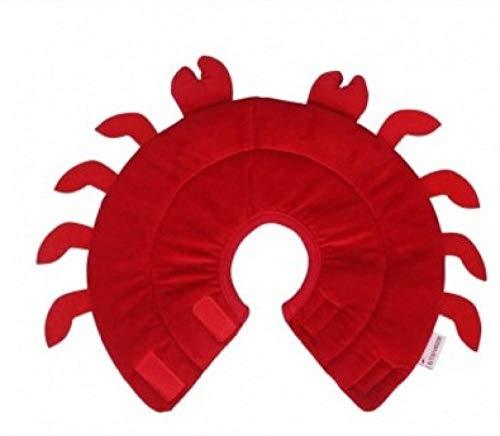 THFPetting Rollleinen für HundeHalsband Haustier Anti-Grab Biss Anti-Schädel Katzenhalsband Hundehalsband - Hummer rot_L-24-27cm (Hummer Hund Leine)
