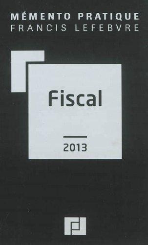 Memento fiscal 2013