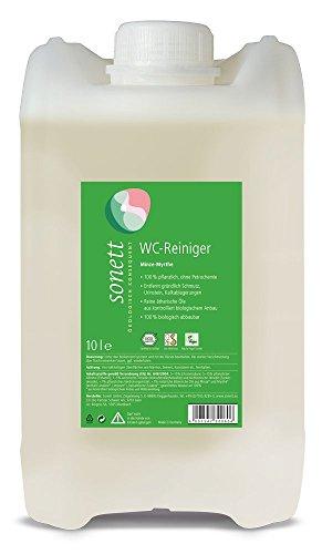 sonett-wc-reiniger-10-liter-mit-angenehmen-duft-der-minze-myrthe-entfernt-grndlich-den-schmutz-urins