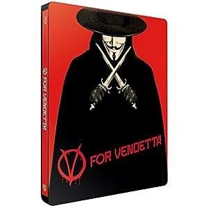 V pour Vendetta - Édition Limitée SteelBook - Blu-ray [Blu-ray + Copie digitale - Édition boîtier SteelBook]