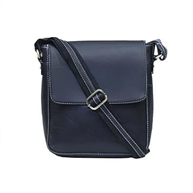 KGNExportsHouse , 9 Inch Small Messenger Bag For Women Leather Shoulder Bag Men - Unisex