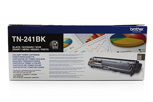 Preisvergleich Produktbild Brother original Toner TN-241BK NEU TN 241 BK HL-3140cw, 3150CDW, 3170CDW, MFC 9140CDN, 9330CDW, 9340CDW, DCP-9020CDW