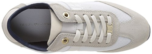 Tommy Hilfiger A1285ngel 1c1, Sneakers Basses Femme Blanc (Whisper White 016)