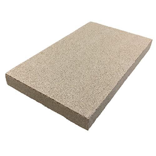 PUR Schamotte Vermiculite Platte 500x300x25mm 600KG/m³