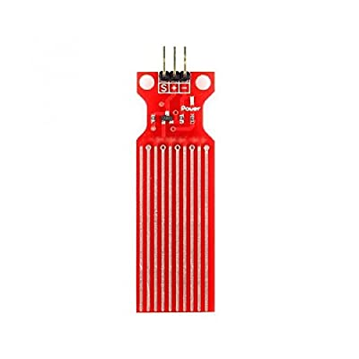 Water Sensor Module for Arduino Moisture / Drop / Depth of Water Test - Red