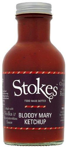 Stokes Bloody Mary Tomato Ketchup, pikant, 250 ml