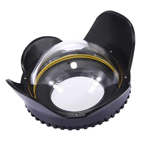 FLAMEER Unterwasser Fisheye Weitwinkelobjektiv Dome-Port Für 67mm Kameragehäuse Fisheye-port