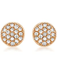 Carissima Gold - Boucles d'Oreilles - Or Rose - 9 cts - Diamant - 2.58.611Y