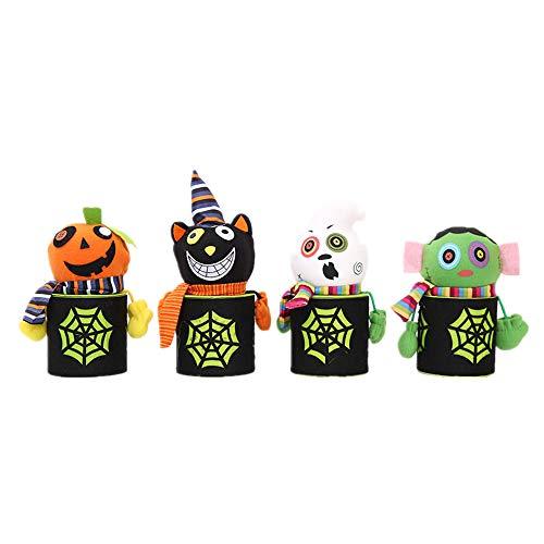 LXY Mode Halloween Kürbis Ghost Zombie Candy Can Inneneinrichtung
