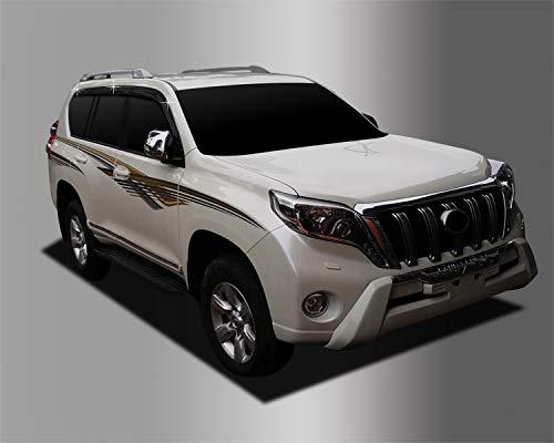 Autoclover Jeu de déflecteurs d'air pour Toyota Land Cruiser 200 2008 + (6 pièces)