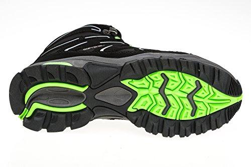 gibra , Chaussures de randonnée montantes pour femme Schwarz/Neongrün