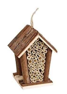 Insektenhotel Insektenhaus Insekten - / Bienen - Haus Nistkasten Brutkasten von Flamingo auf Du und dein Garten