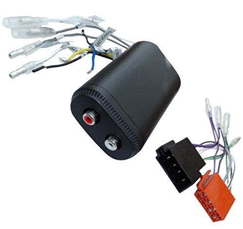 Coax Remote (Aerzetix: Adapter Kabelbaum Kabel ISO Cinch für Verstärker amplifacteur Autoradio + Remote C16589)