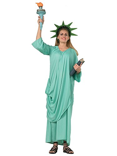 Rubie's 216359 - Statue of Liberty, STD, hellblau