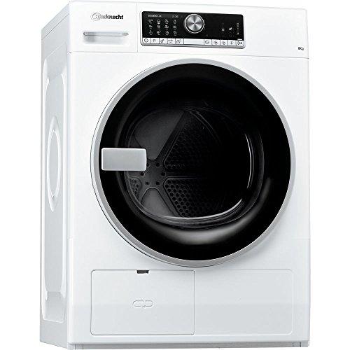 Bauknecht 12NC856010603030 TR Trend 82A3 Wärmepumpentrockner, Wool Perfection, Startzeitvorwahl, A+++, 8 kg, weiß