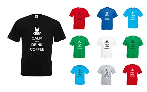 keep-calm-and-drink-coffee-hommes-t-shirt-imprime