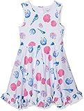 Happy Girls Mädchen Kleid mit Print Pink 36, (Herstellergröße: 116)