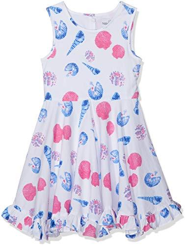Happy Girls Mädchen Kleid mit Print Pink 36, (Herstellergröße: 122)