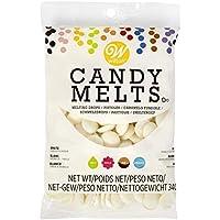 Wilton Candy Melts, Cobertura para repostería (Blanco) - 340 ...