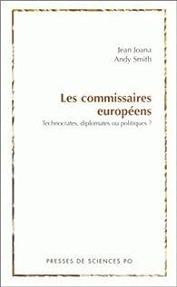 Les commissaires européens par Jean Joana