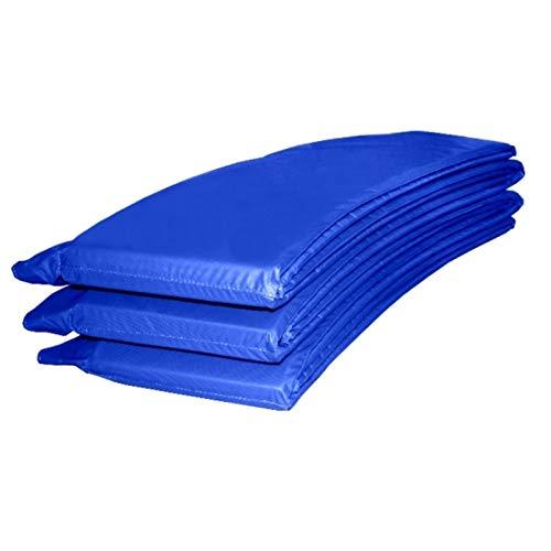 Gartentrampolin Trampolin 305 bis 310 cm in blau mit Sicherheitsnetz und Einstiegsleiter - 4