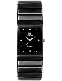 Iik Collection Watches Analogue Black Dial Men's and Boys Watch - Iik-008M