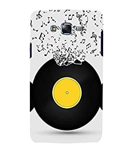 Music Record 3D Hard Polycarbonate Designer Back Case Cover for Samsung Galaxy J7 J700F (2015 OLD MODEL) :: Samsung Galaxy J7 Duos :: Samsung Galaxy J7 J700M J700H