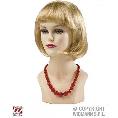 Geniale Perlen - Kette in rot im Stil der 50er bis 70er Jahre