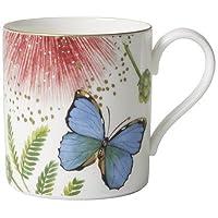 Villeroy & Boch - Tasse à Café Amazonia, Mug à Café Raffiné en Porcelaine Bone Premium au Design Tropical Coloré…