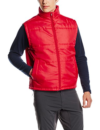 Men's Red Gilet Bodywarmer for Marty McFly Costume