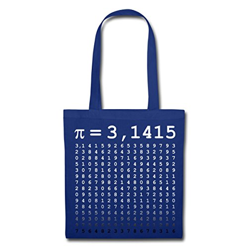 In Borsa Royal Pi 1415 Spreadshirt Tessuto 3 Blu I4RHq
