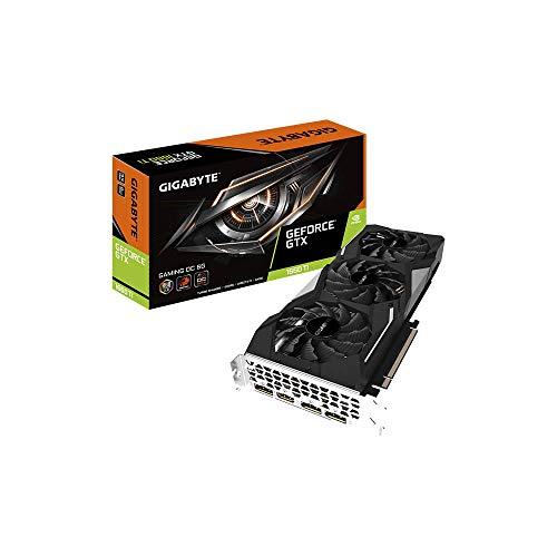 GIGABYTE GTX 1660 Ti GAMING OC 6GB DDR6 - Tarjeta gráfica (GeForce...