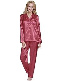TONY & CANDICE Para Mujer Del Pijama De Satén Conjunto