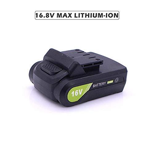 fancyU Batería Recargable de Ion-Litio máxima Universal 12V / 16.8V / 21V con Tipo de Empuje Plano para Taladro eléctrico/Destornillador eléctrico