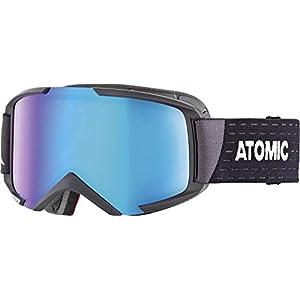 Atomic Unisex All Mountain-Skibrille für Brillenträger Savor M Photo OTG, für alle Lichtverhältnisse, Medium Fit, Live Fit-Rahmen, Photochrome Scheibe, schwarz/photochromic
