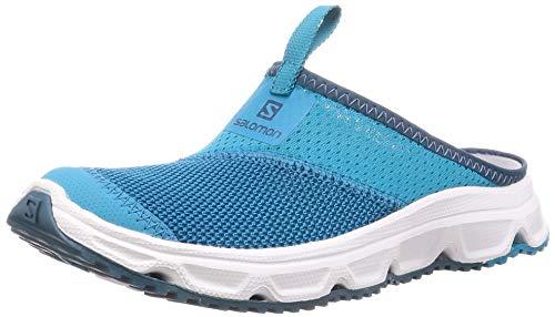 Salomon Damen RX Slide 4.0 W, Erholungsschuhe, Blau (Caneel Bay/White/Mallard Blue), Größe 40 -