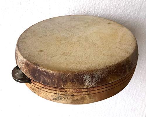 Khanjeera Handtrommel Hand Percussion Dhapli Goat SkiN Cover