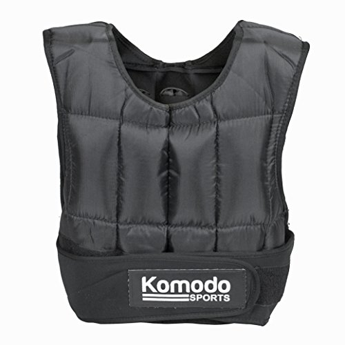 KOMODO-Adjustable-Weighted-Vest-5-30KG-Strength-Training-Gym-Workout-Fitness-10KG
