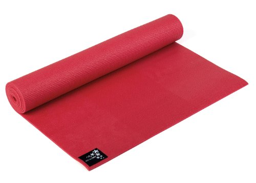 Image of Yogistar Yogamatte Basic - rutschfest - Fire Red